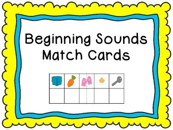 Beginning Sound Match Cards