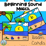Beginning Sound Match Distance Learning Boom Cards