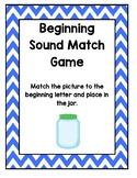 Beginning Sound Match Game