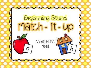 Beginning Sound Match It Up!
