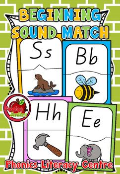 Beginning Sound Match - Literacy Centre