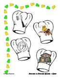 Beginning Sound Match - Pic to Pic - File folder - Chef Hat Theme Reading Center