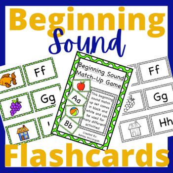 Beginning Sound Match-Up Cards
