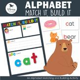 Alphabet Match it Build it