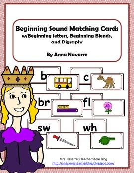 Beginning Sound Matching Cards