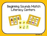 Beginning Sound Matching Charts
