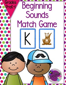Beginning Sound Matching Game