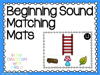 Beginning Sound Matching Mats