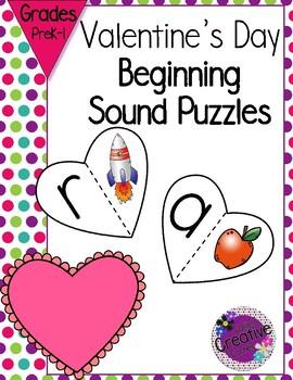 Beginning Sound Matching Puzzles