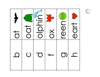Beginning Sound Matching Strips Set 3