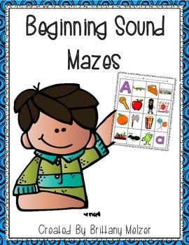 Beginning Sound Maze Freebie