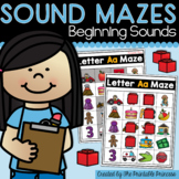Beginning Sound Mazes {Activities to Teach Letter Sounds}