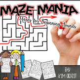Beginning Sound Mazes by Kim Adsit