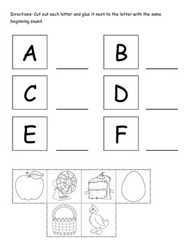 Beginning Sound Packet