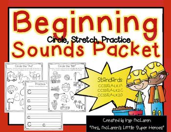Beginning Sound Packet