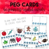 Beginning Sound Peg Cards