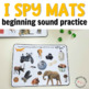 Beginning Sound Phonics I Spy Mats