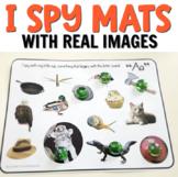 Beginning Sound Phonics I Spy Mats