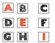 Letter Sound Recognition Picture Cards