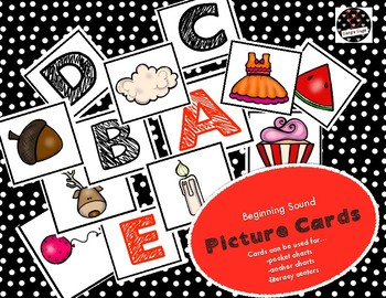 Letter Recognition Picture Cards
