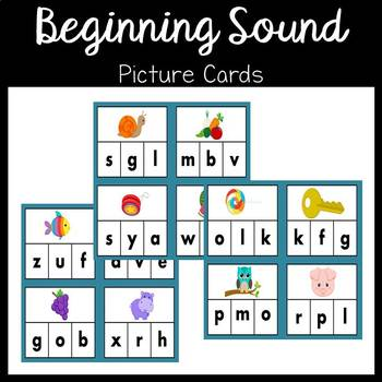 Phonics Beginning/ Initial Sound Picture Cards