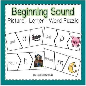 Initial Sound / Alphabet Puzzle