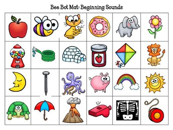 Beginning Sound Picture Mat