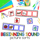 Beginning Sound Picture Sort