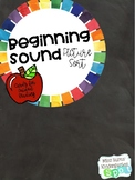 Beginning Sound Picture Sort Cards for Guided Reading