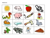 Beginning Sound Picture Sort (Pp Mm Ss Aa)