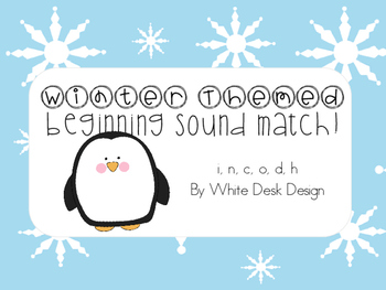 Beginning Sound Picture Sort! {Winter Themed}