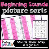 Beginning Sound Picture Sorts