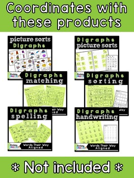 Digraph Picture Sort No Prep