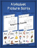 Beginning Sound Picture Sorts - Alphabet