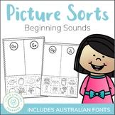 Beginning Sound Sort - Alphabet and Letter Sounds