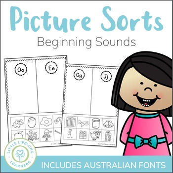 Beginning Sound Sort Alphabet And Letter Sounds By