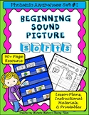 Beginning Sound Picture Sorts: Lesson Plans, Materials and Printables 90+ Pages