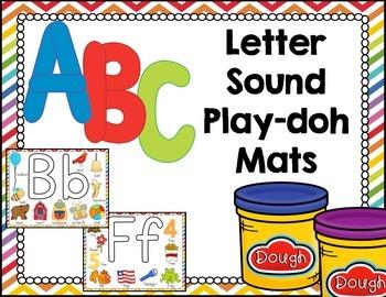 Beginning Sound Play-doh Mats