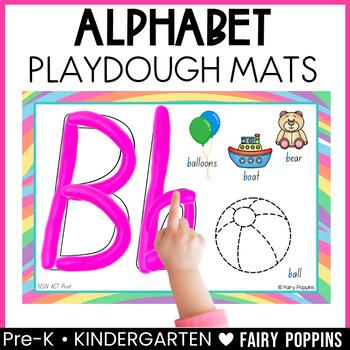 Alphabet Playdough Mats (Zaner Bloser & Australian fonts)