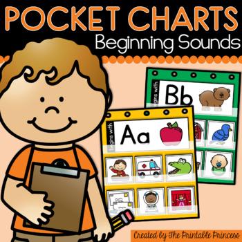 Beginning Sounds Pocket Chart Activities