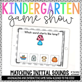 Beginning Sounds Game (Interactive PowerPoint)   Distance Learning