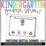 Beginning Sounds Game (Interactive PowerPoint) | Distance