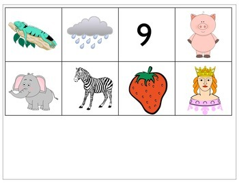 Beginning Sound Practice-Sound to Picture Matching