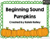 Beginning Sound Pumpkins