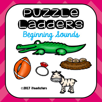 Beginning Sound Level 1 Puzzle Ladders
