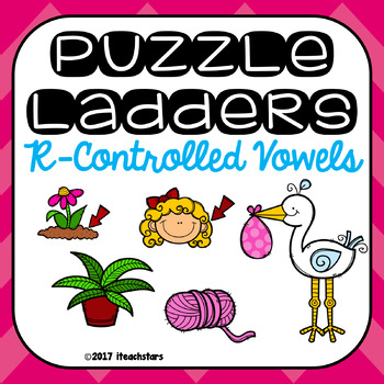 R-Controlled Vowel Level 1 Puzzle Ladders