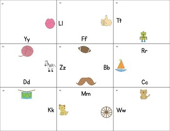 Beginning Sound Puzzlers {initial sound recognition}