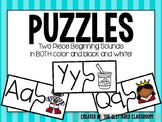 Beginning Sound Puzzles (2 Pieces)