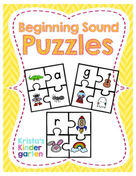 Beginning Sound Puzzles