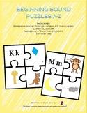 Beginning Sound Puzzles A-Z